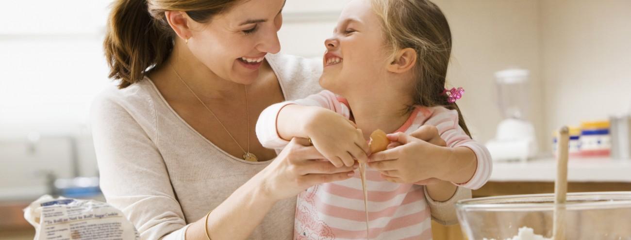 In cucina con la mamma (7-11 anni)