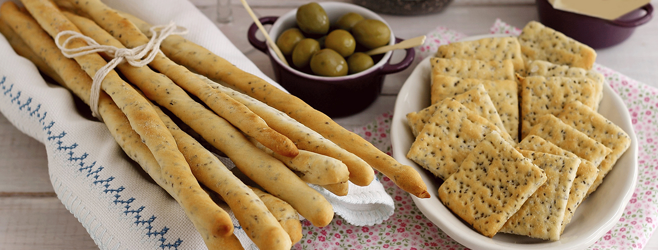 Pane, Grissini e Crackers