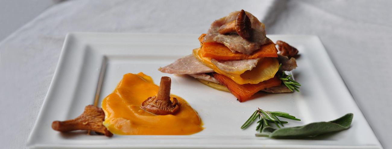 Zucca, Castagne e Funghi