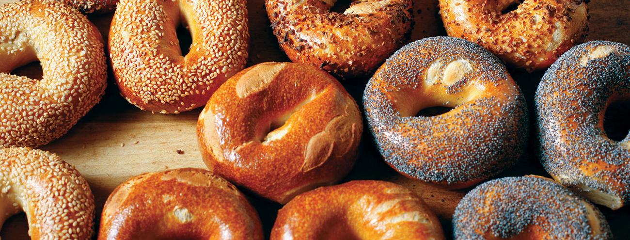 Bagel, Donuts e Pretzel