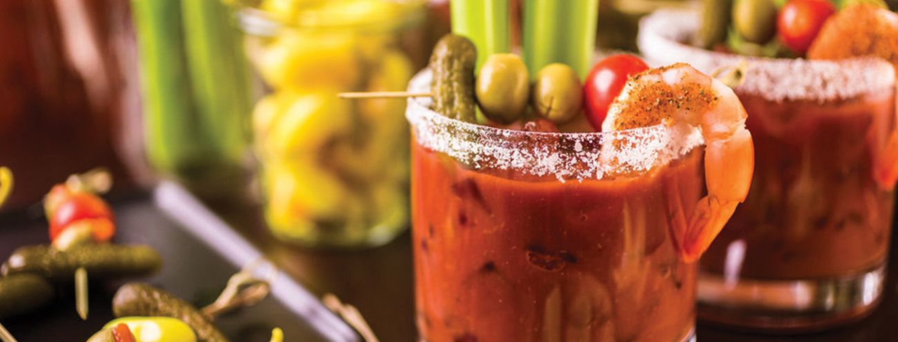 Bloody Mary & Finger Food