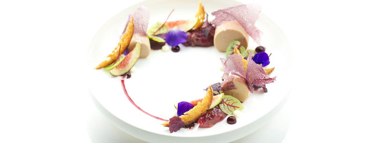 Visual food e dessert al piatto